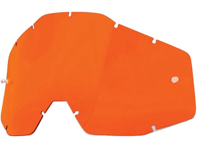 100% Wechselglas orange-clear